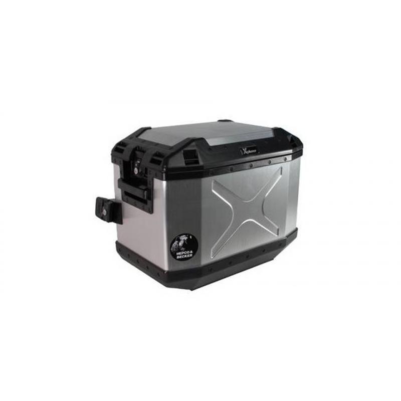 Bagagerie Hepco-Becker / Krauser ✓ Valise Xplorer Alu 40 litres Gauche HEPCO-BECKER
