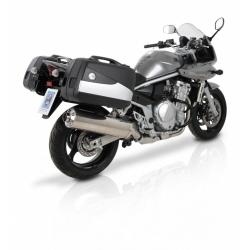 Bagagerie Hepco-Becker / Krauser ✓ Valises Junior Flash Silver 40/30 litres HEPCO-BECKER