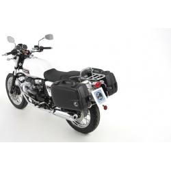 Bagagerie Hepco-Becker / Krauser ✓ Valises Junior Flash Black 30/40 litres HEPCO-BECKER