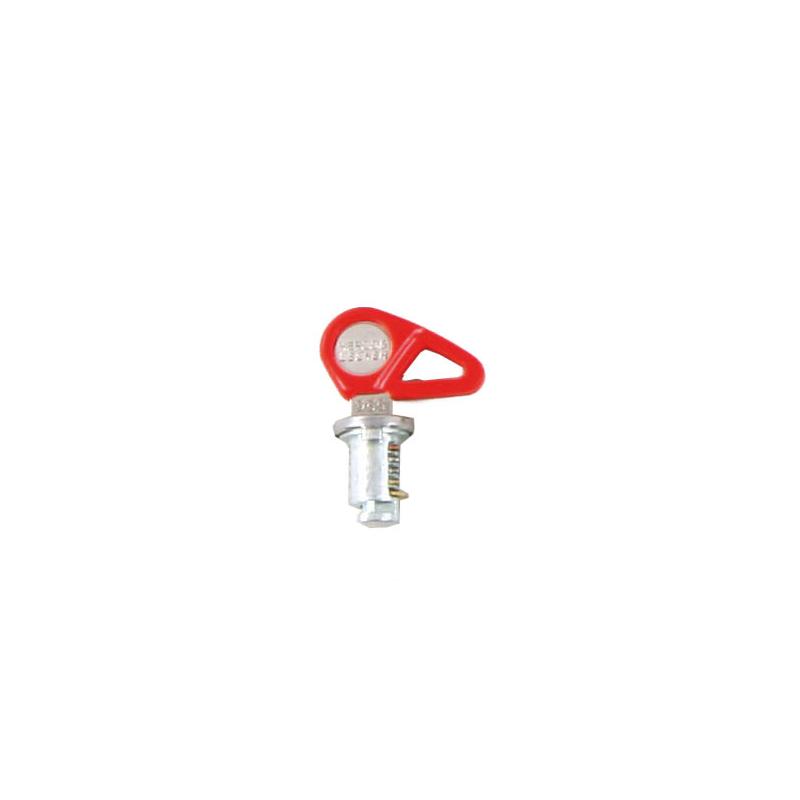 Bagagerie Hepco-Becker / Krauser ✓ 1 clé + 1 barillet pour Valises et Top case Hepco-Becker