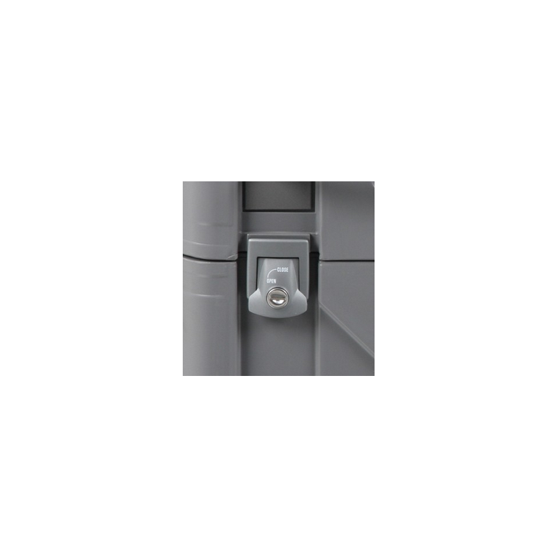 Bagagerie Hepco-Becker / Krauser ✓ 1 serrure complète pour Valises et Top case Hepco-Becker - Argent