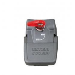 Bagagerie Hepco-Becker / Krauser ✓ Verrouillage de maintien pour Valises - Argent