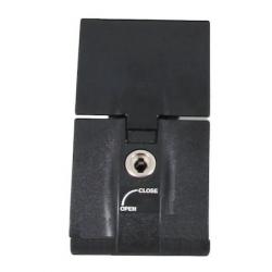 Bagagerie Hepco-Becker / Krauser ✓ 1 serrure Noir complète pour Top case Journey 40/50/52