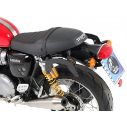 Thruxton 1200 / R à partir de 2016 ✓ Supports sacoches Noir Hepco-Becker type C-Bow