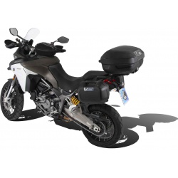 Multistrada 1200 Enduro 2016 ✓ Supports sacoches type C-Bow Hepco-Becker