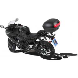 Ninja 650 à partir de 2017 ✓ Support top case Easy Rack Hepco-Becker