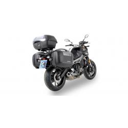 LE COIN DES BONNES AFFAIRES ✓ Supports de valises Yamaha MT-09 Hepco-Becker Lock-it (Destockage)