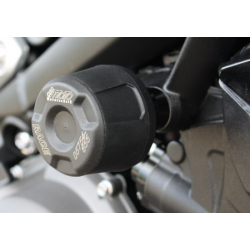 Street Triple 765 S/R/RS à partir de 2017 ✓ Roulettes de protection - Support Noir