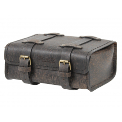 Bagagerie Hepco-Becker / Krauser ✓ Sac arrière Legacy Cuir RUGGED