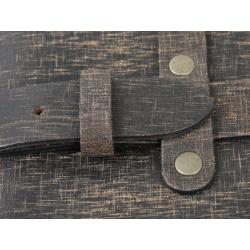 Bagagerie Hepco-Becker / Krauser ✓ Sac arrière Legacy Cuir RUGGED