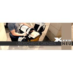 Bagagerie Hepco-Becker / Krauser ✓ Valise XCEED Titan 38 litres Gauche HEPCO-BECKER